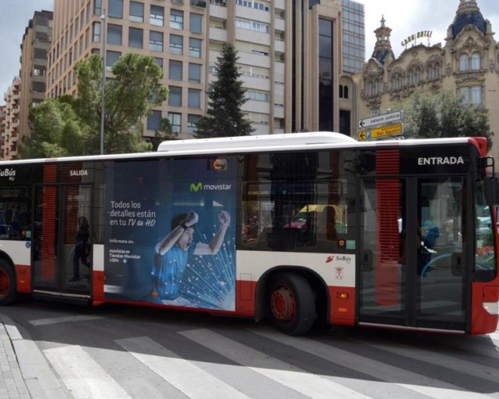 Autobuses urbanos modelo lateral plus