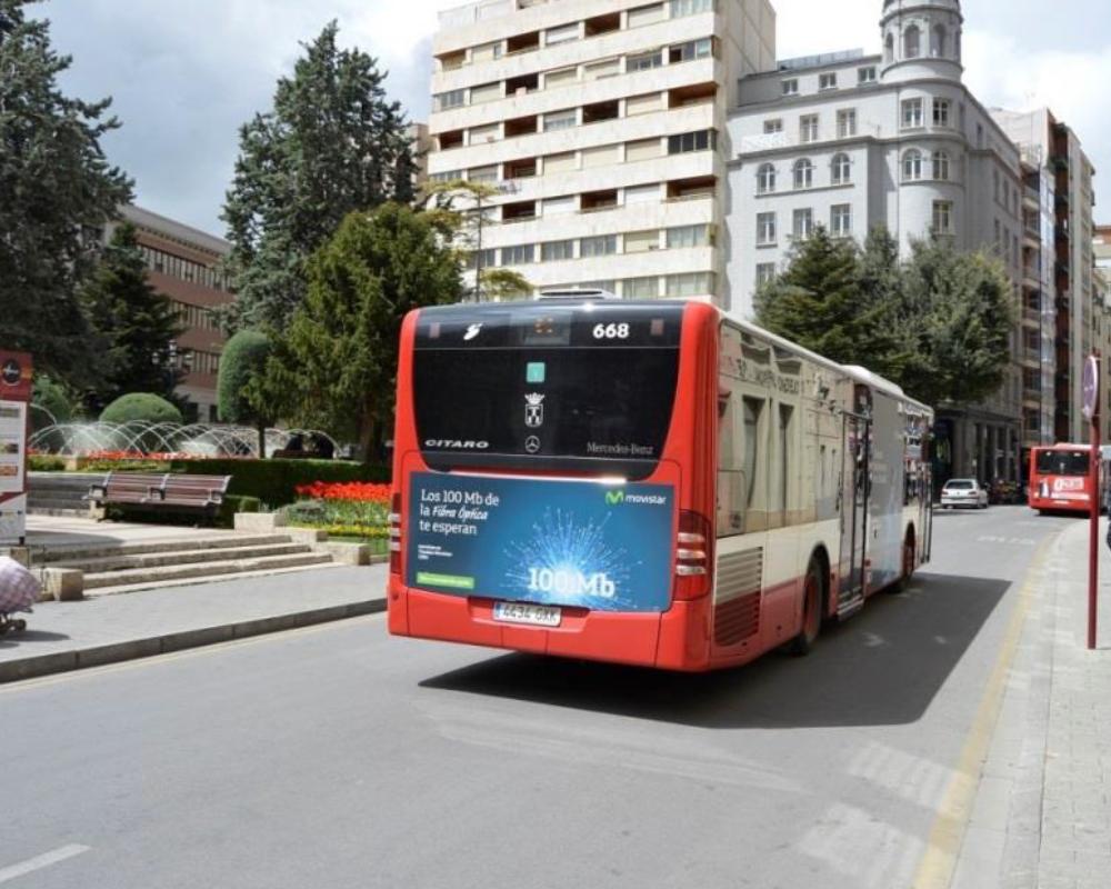 Autobuses urbanos lateral plus