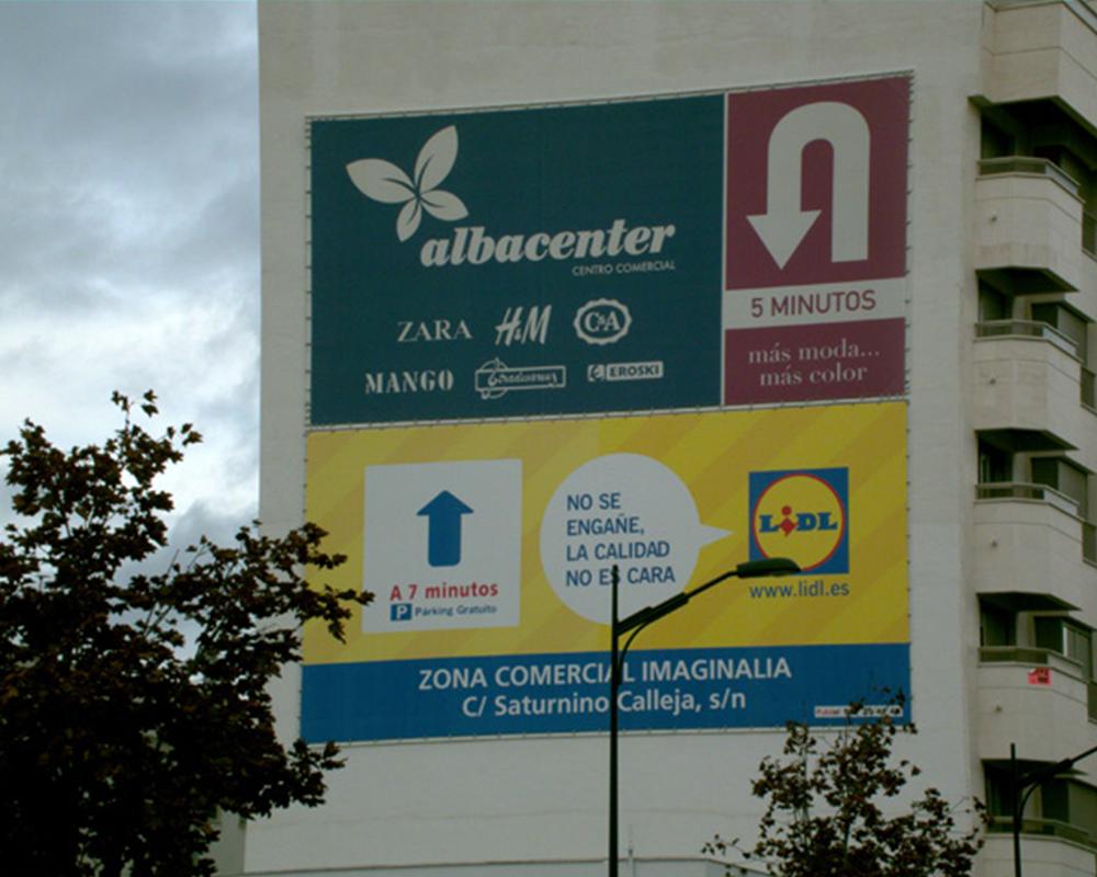 Lonas publicitarias Albacenter