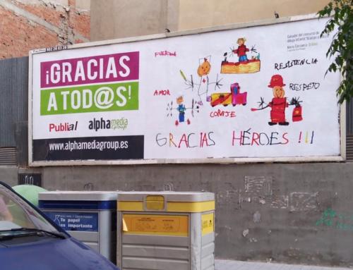 Publial colabora con la campaña solidaria de Alpha 'Gracias a todos'